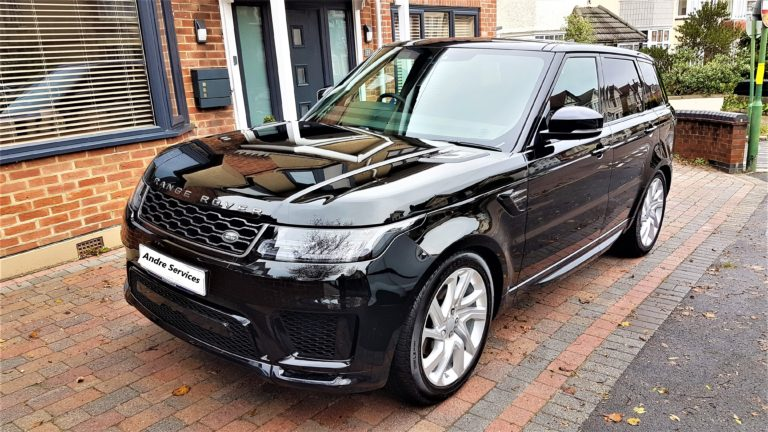 ceramic protection car protection Range Rover