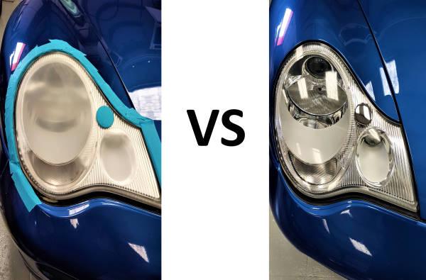 headlights restauration