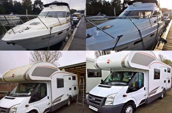 boat yacht motorhome camper valetingvaleting