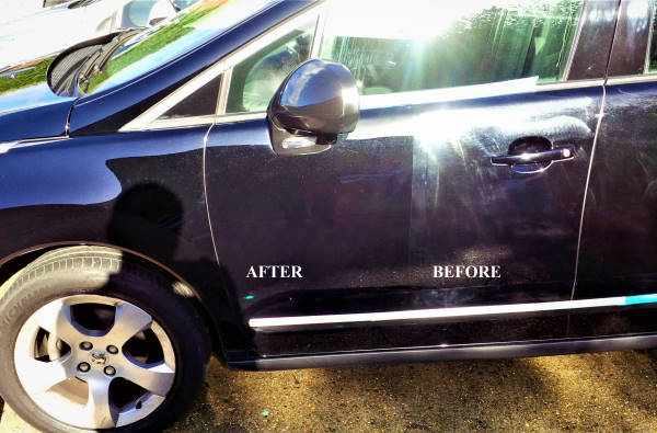 car scratches removal